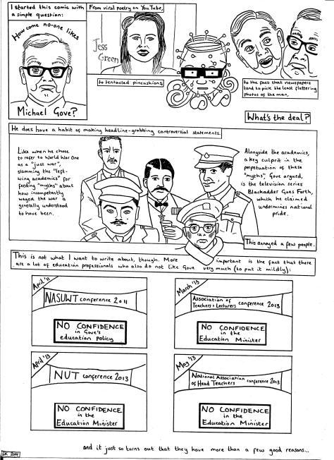Gove comic p.1